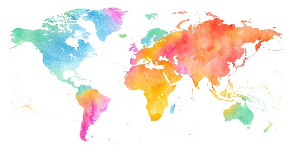 watercolor world image